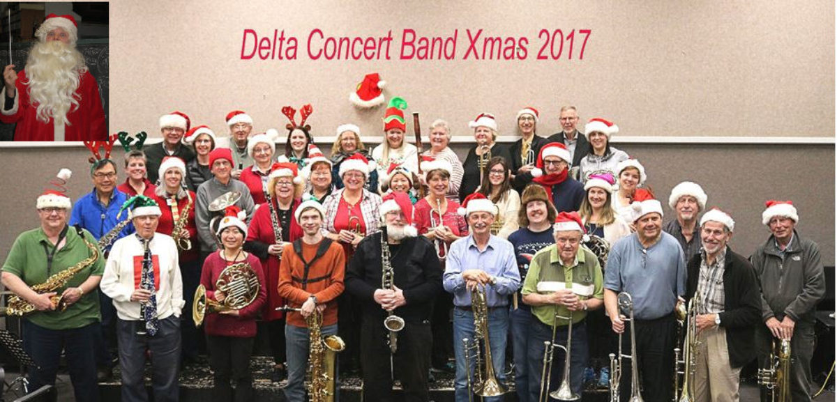 Seasons Greetings From the Delta Concert Band